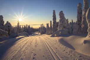 Laponia: Travesía por el Lago Inari en Finlandia