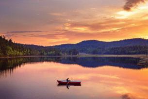 Verano en la Laponia sueca: senderismo, canoa y Abisko