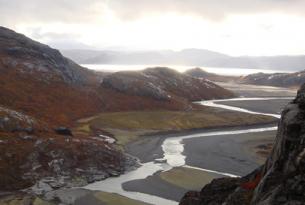 Aventura hotel y campamento glaciar en el Sur de Groenlandia. 5días.