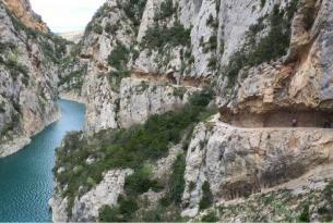 Huesca: Senderismo en el Congost de Mont Rebei y Sierra de Guara