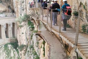 Senderismo en Málaga: Caminito del Rey en el puente de diciembre