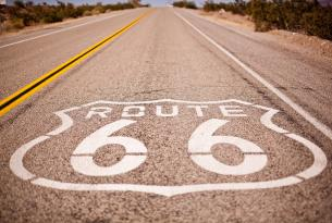 La mítica Ruta 66 en coche de alquiler a tu aire