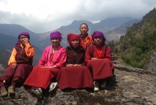 Trek en Nepal: el trek del Pikey Peak