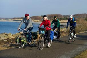 Costa de Suecia en bici: Ruta Kattegattleden a tu aire