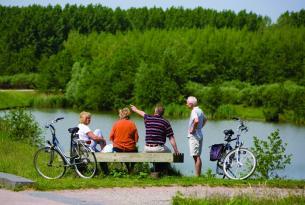 Lo mejor de Holanda en bicicleta: Amsterdam, Zaanse Schans y Voledam a tu aire