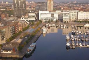 En barco y bicicleta por Amsterdam y Brujas