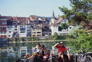 Suiza en bicicleta: la ruta del río Aare