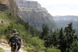 Senderismo en el Parque Nacional de Ordesa