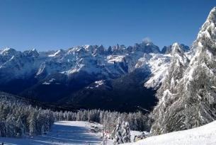 Raquetas de Nieve Dolomitas en la Brenta
