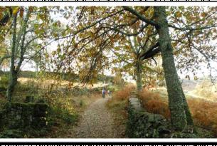 Senderismo en somiedo y parque natural de Redes en otoño