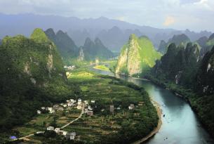 China de norte a sur: con Beiging,  Xi'an, Shanghai, Guilin y Yangshuo