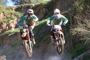 Viaje en moto enduro España Granada KTM 450 o Gas Gas 300