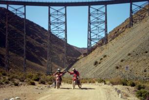 Viaje en moto Argentina Los Andes Challenge 8 días 6 en moto