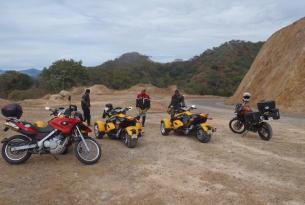 Viaje en moto México Ruta Colonial 8 días 6 en moto BMW o BRP Spyder
