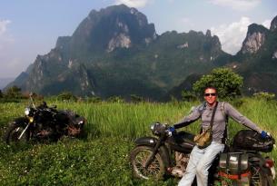 Viaje en moto Vietnam, ruta Hanói a Saigón en Ural 650