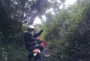 Viaje en moto enduro Portugal