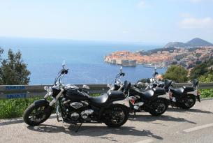 Viaje en moto Croacia tour islas Dámatas