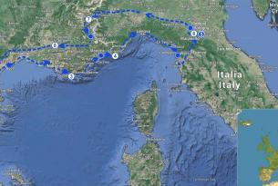 Viaje en moto al Museo Ferrari