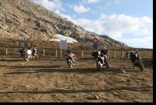 Viaje en moto Alpes off road / on road 7 dias 6 en moto trail propia