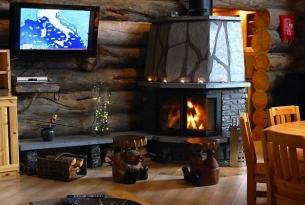 Viaje en moto de nieve Finlandia, Círculo Polar Ártico