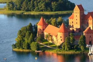 Países Bálticos, Capitales de Rusia y Anillo de Oro