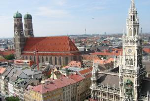 Alemania: Frankfurt y Munich en Tren