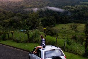 Costa Rica, tesoros naturales: Tortuguero, Corcovado y Manuel Antonio en coche de alquiler