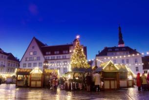 Mercadillos de Navidad: Tallin, Helsinki y Estocolmo a tu aire
