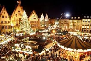 Mercado de Navidad en Budapest