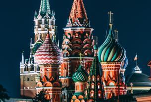 Rusia: Moscú y San Petersburgo en grupo
