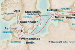 Escandinavia y Rusia con guía
