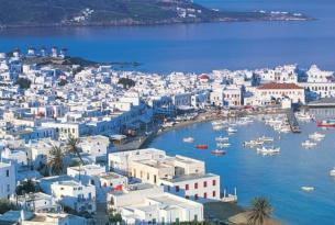 Atenas, Mykonos y Santorini desde Madrid (a tu aire con traslados y asistencia)