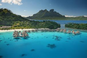 Polinesia: combinado Tahití y Bora Bora