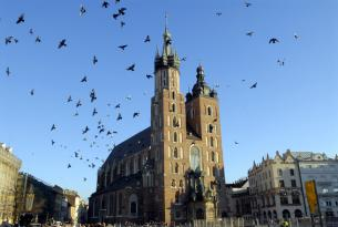 Polonia: Cracovia con visita panorámica desde Barcelona