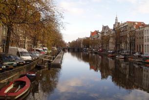 Puente del País Vasco en Ámsterdam