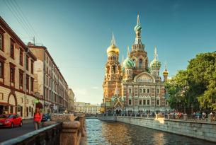 Verano en Rusia: de San Petersburgo a Moscú en grupo y en hoteles de 3*