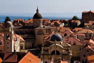 Puente del Pilar en Dubrovnik, la joya de Croacia