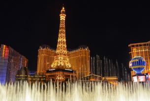 Escapada rápida a Las Vegas con excursión guiada al Red Rock Canyon