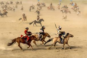 Circuito por Mongolia durante el Festival de Naadam