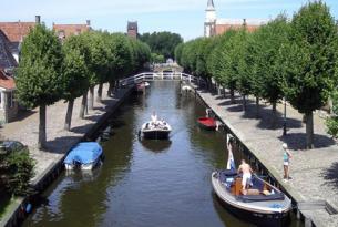 Holanda: los alrededores del lago Ijssel en bicicleta y velero