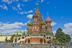 Imagenes de Rusia: San Petersburgo y Moscú (Media Pension)